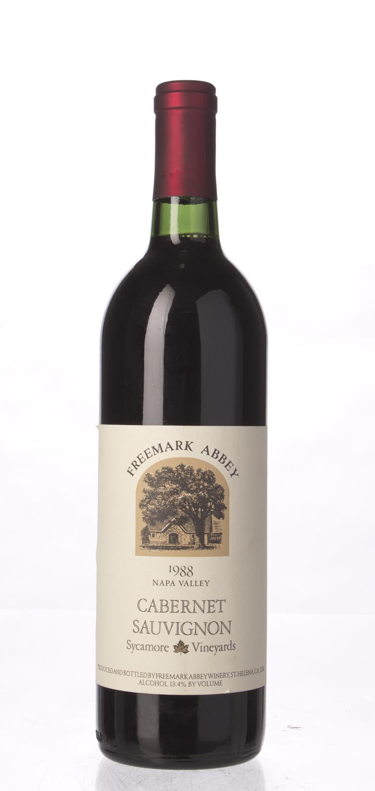 Freemark Abbey Cabernet Sauvignon Sycamore Vineyard 1988, 750mL () from The BPW - Merchants of rare and fine wines.