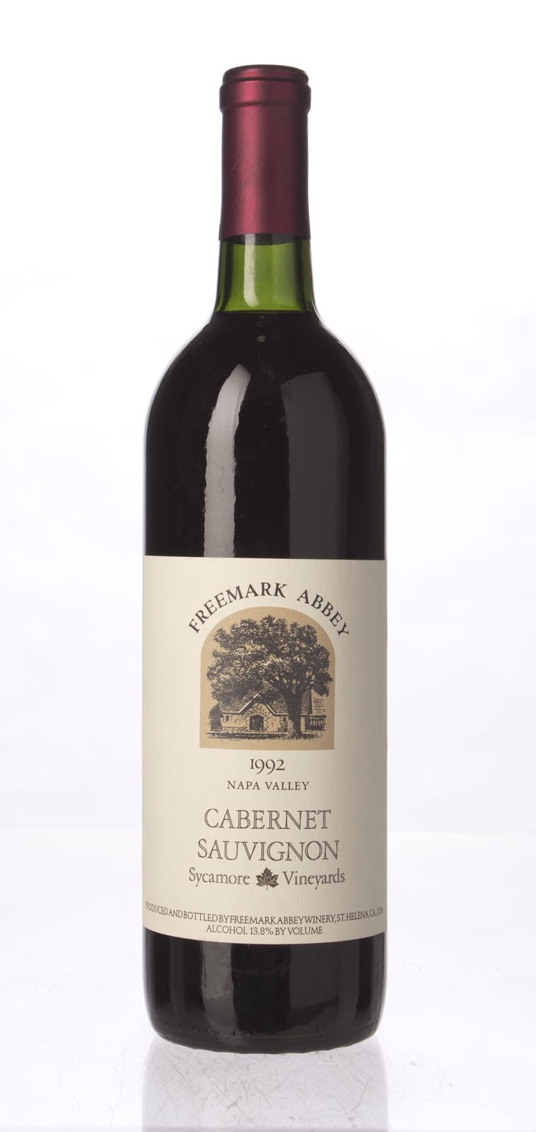 Freemark Abbey Cabernet Sauvignon Sycamore Vineyard 1992, 750mL () from The BPW - Merchants of rare and fine wines.