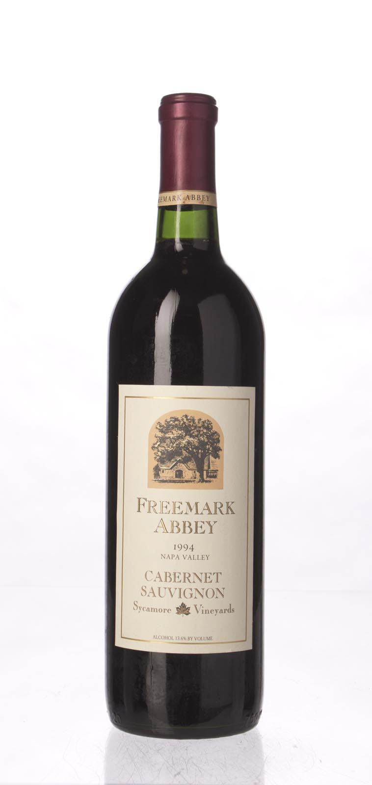 Freemark Abbey Cabernet Sauvignon Sycamore Vineyard 1994, 750mL () from The BPW - Merchants of rare and fine wines.