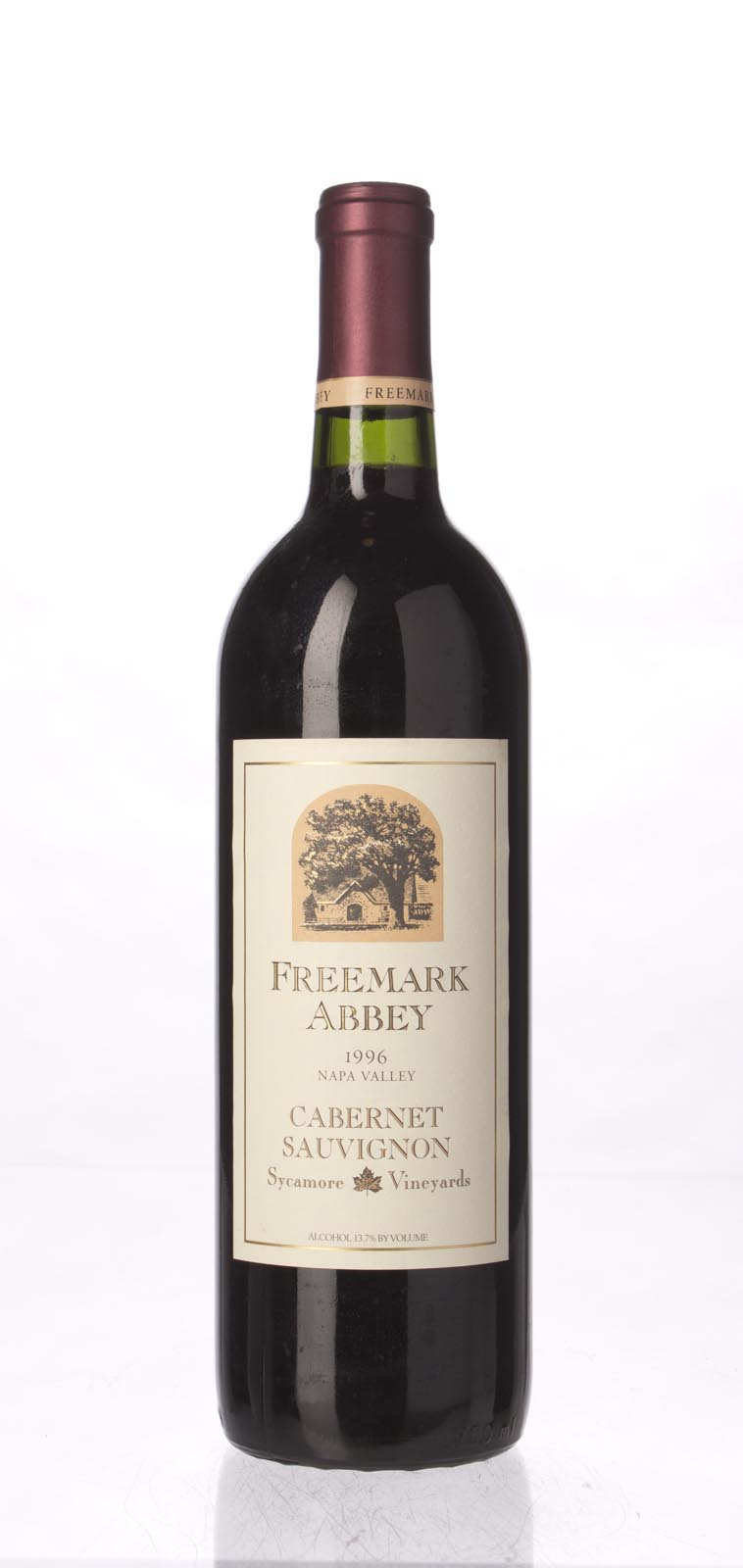 Freemark Abbey Cabernet Sauvignon Sycamore Vineyard 1996, 750mL () from The BPW - Merchants of rare and fine wines.
