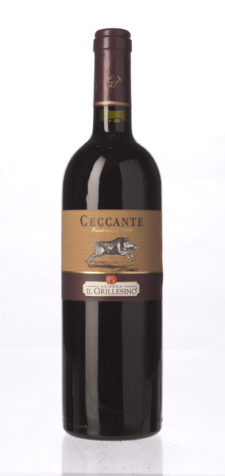 Il Grillesino Ceccante IGT 1999, 750ml (ST90) from The BPW - Merchants of rare and fine wines.