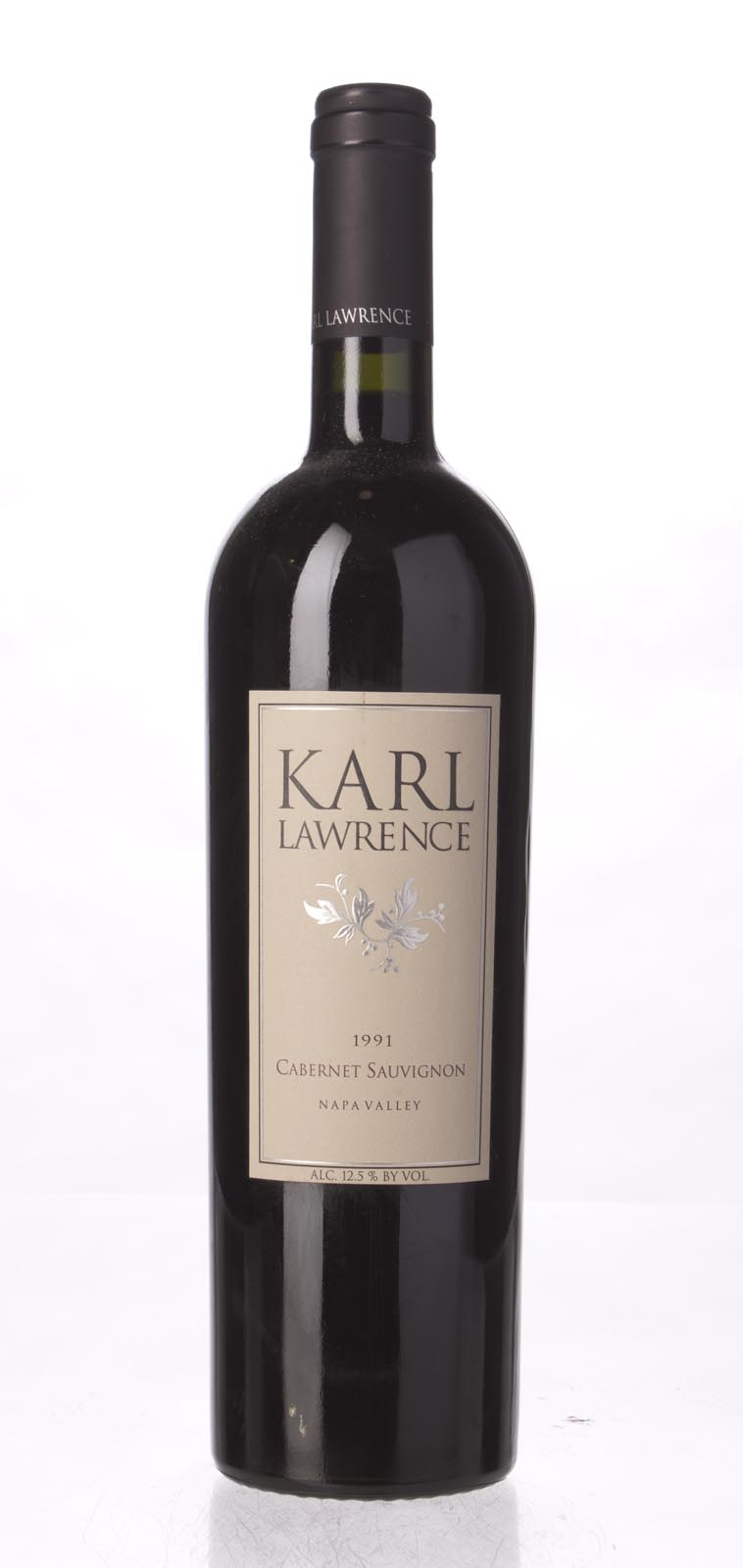 Karl Lawrence Cabernet Sauvignon Napa Valley 1991, 750mL () from The BPW - Merchants of rare and fine wines.