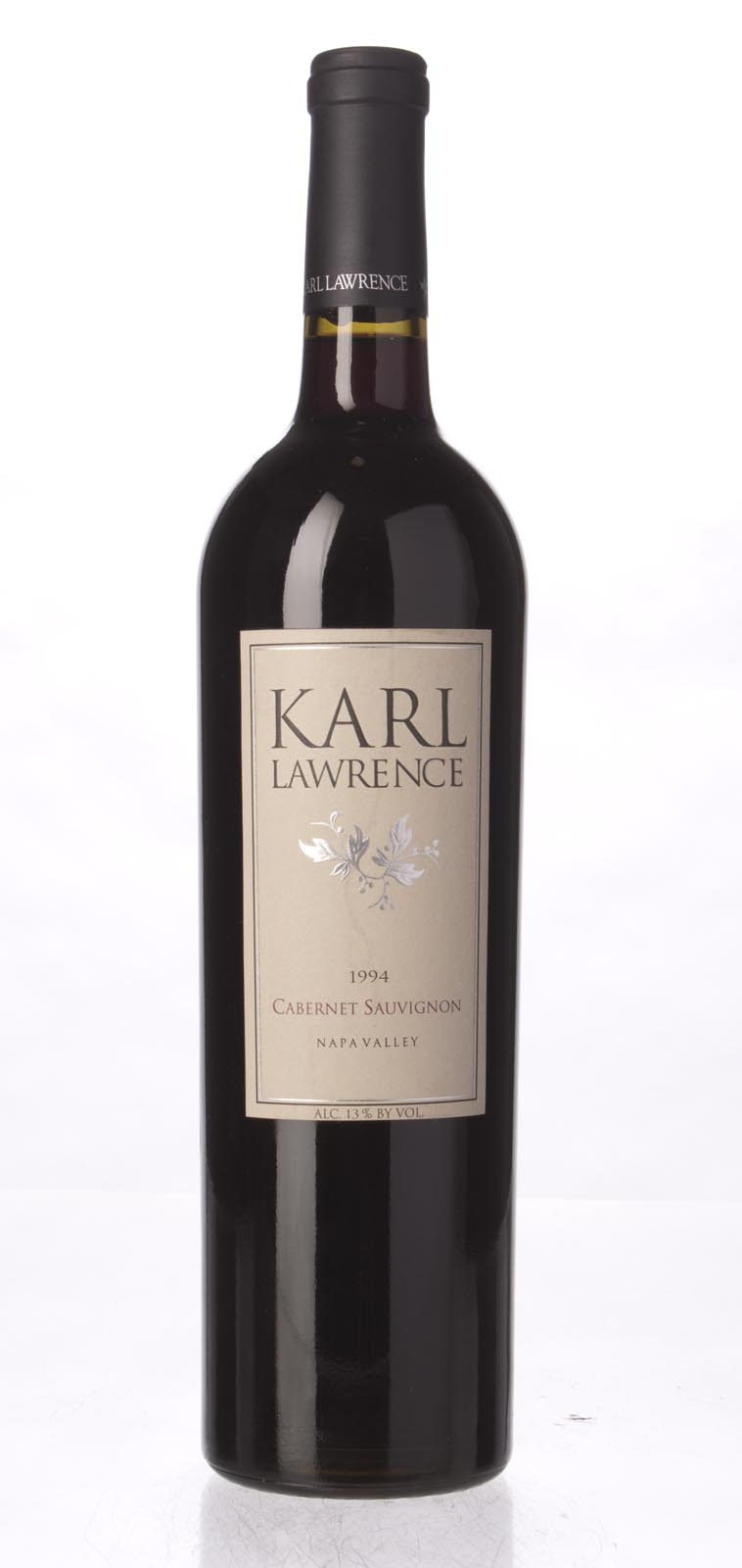 Karl Lawrence Cabernet Sauvignon Napa Valley 1994, 750mL () from The BPW - Merchants of rare and fine wines.