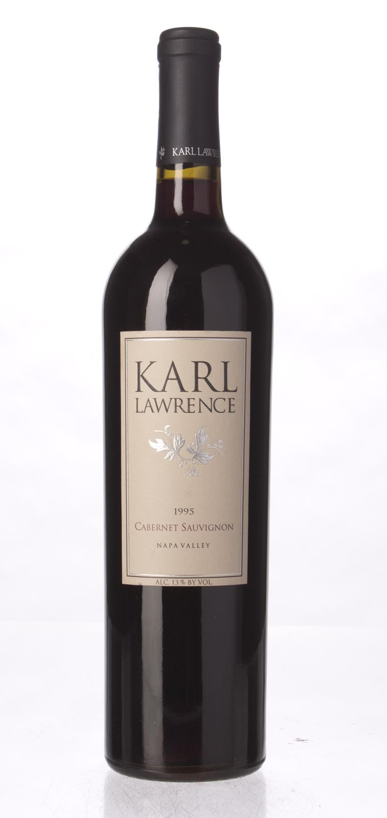 Karl Lawrence Cabernet Sauvignon Napa Valley 1995, 750mL () from The BPW - Merchants of rare and fine wines.