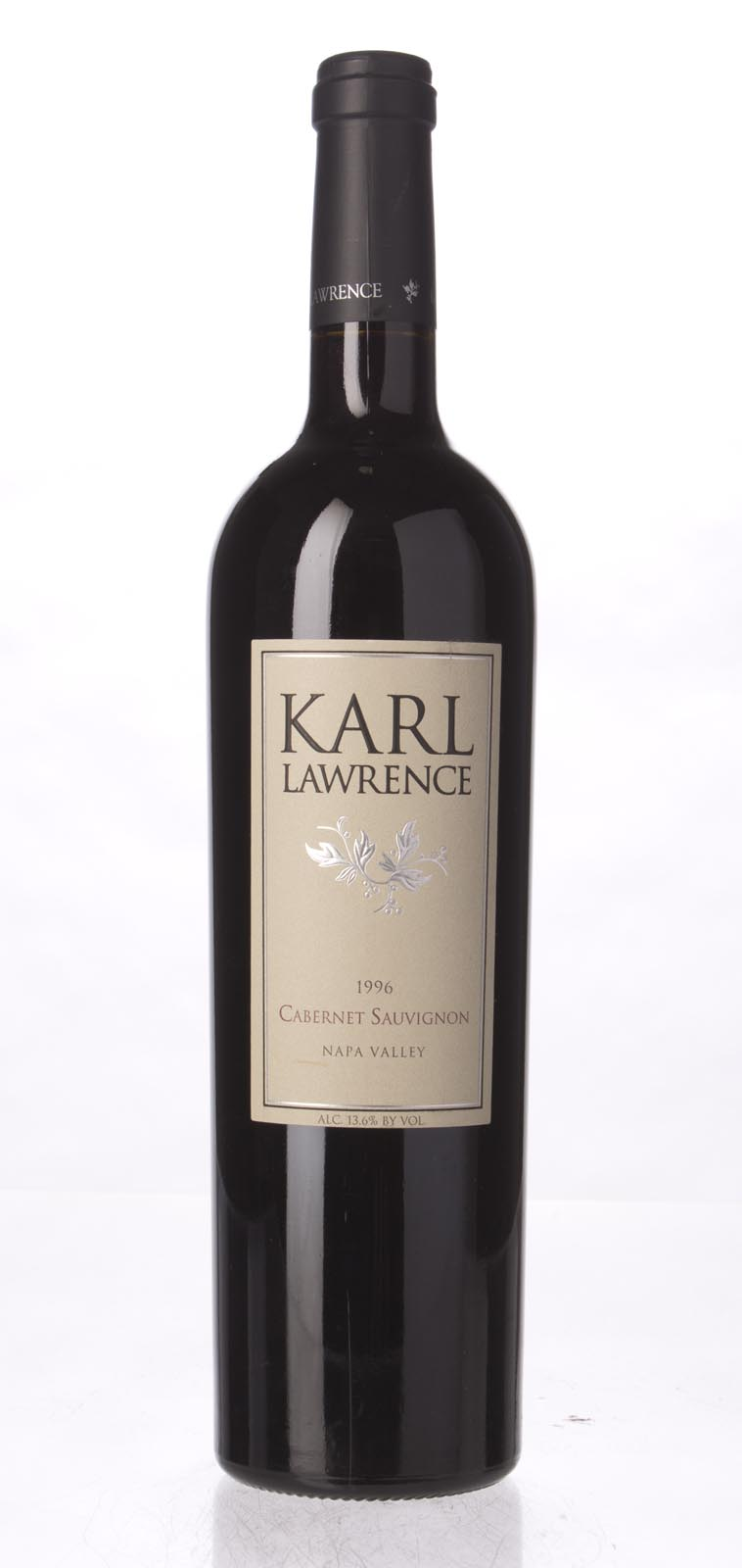 Karl Lawrence Cabernet Sauvignon Napa Valley 1996, 750mL () from The BPW - Merchants of rare and fine wines.
