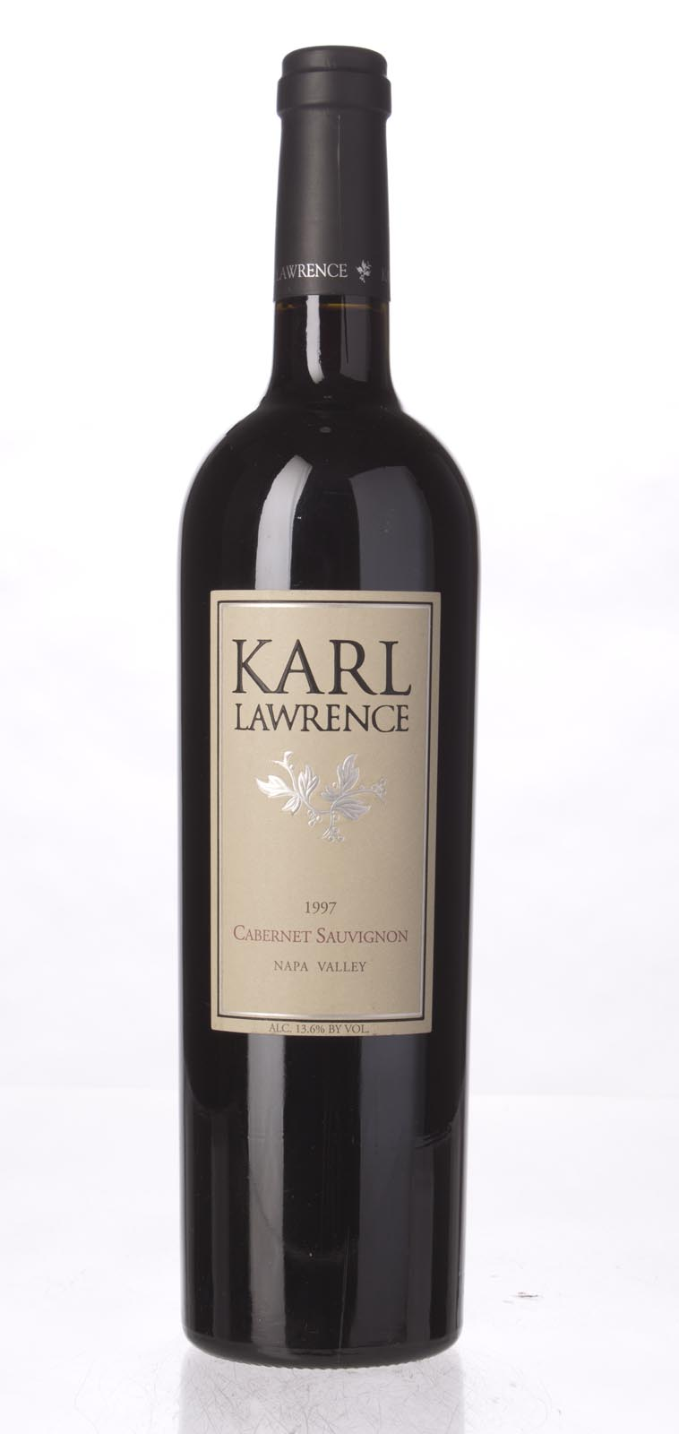 Karl Lawrence Cabernet Sauvignon Napa Valley 1997, 750mL (WS92) from The BPW - Merchants of rare and fine wines.