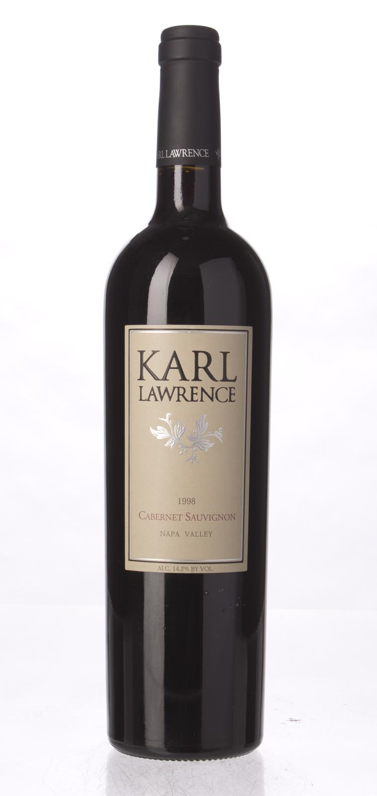 Karl Lawrence Cabernet Sauvignon Napa Valley 1998, 750mL () from The BPW - Merchants of rare and fine wines.