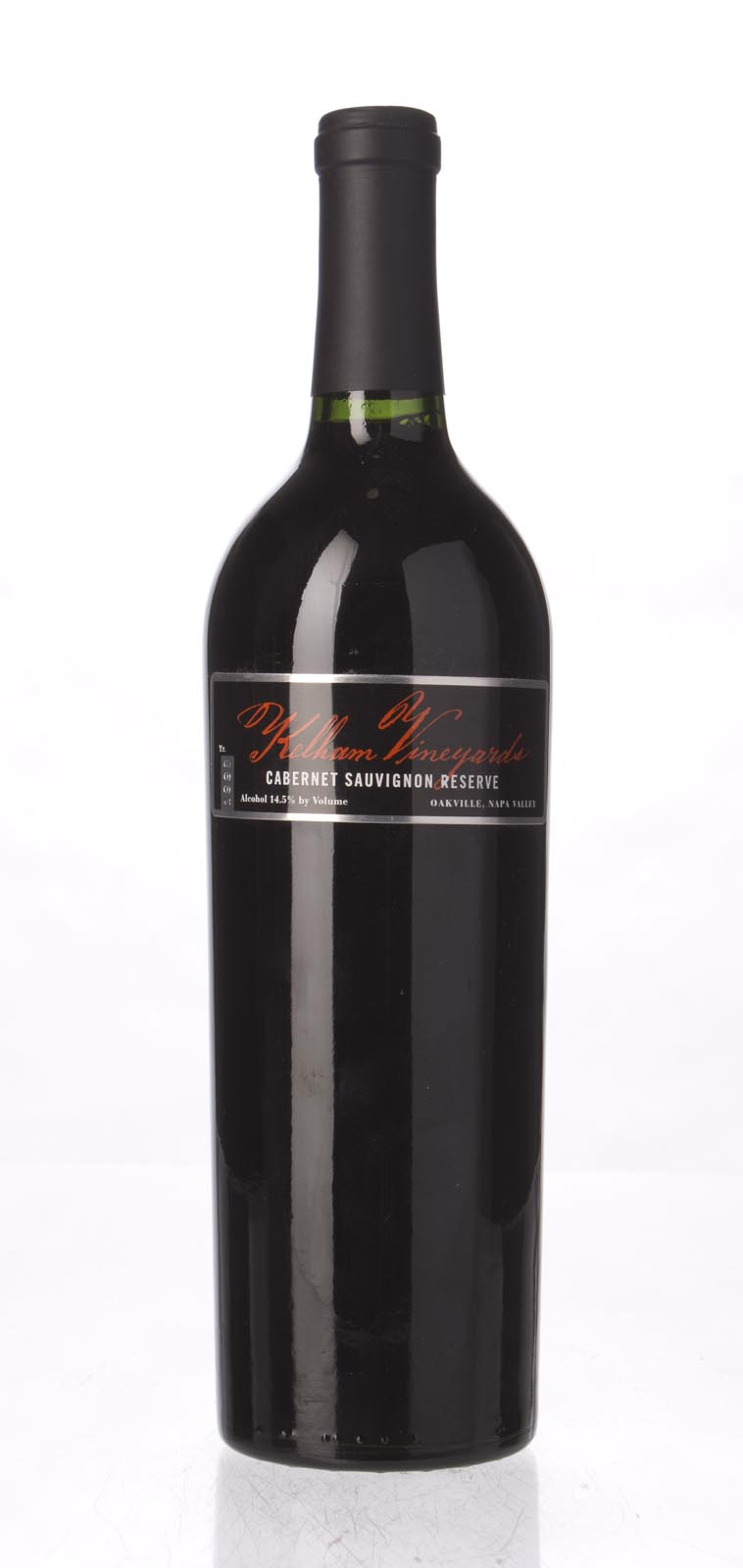 Kelham Vineyards Cabernet Sauvignon Reserve 1998, 750mL () from The BPW - Merchants of rare and fine wines.