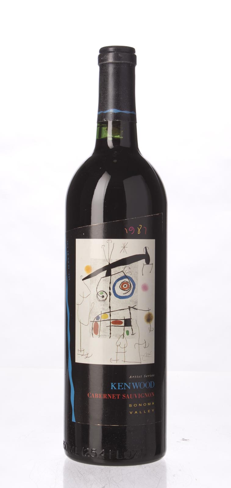 Kenwood Cabernet Sauvignon Artist`s Series 1987, 750mL (WS91) from The BPW - Merchants of rare and fine wines.