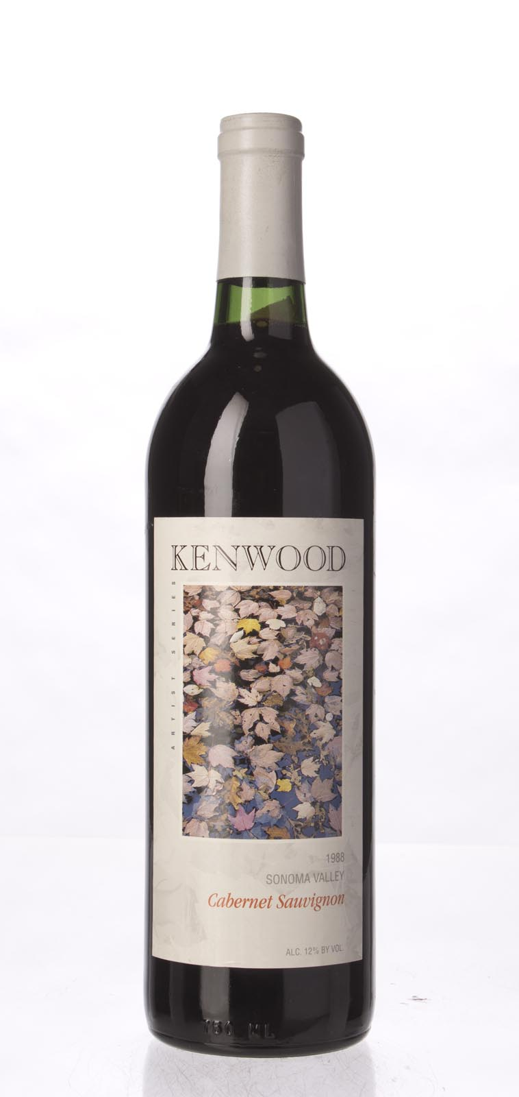 Kenwood Cabernet Sauvignon Artist`s Series 1988, 750mL () from The BPW - Merchants of rare and fine wines.