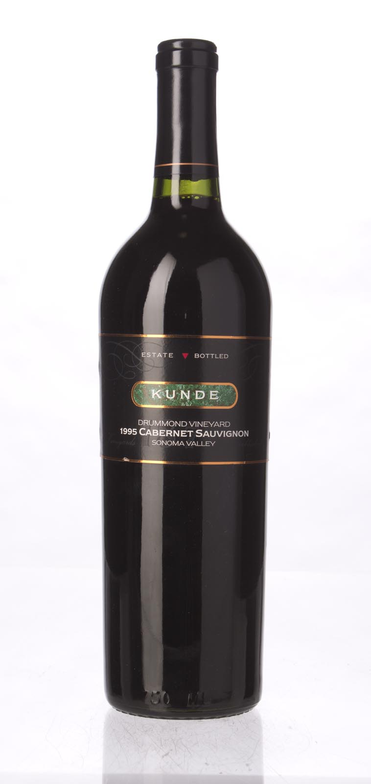 Kunde Estate Cabernet Sauvignon Drummond Vineyard 1995, 750mL () from The BPW - Merchants of rare and fine wines.
