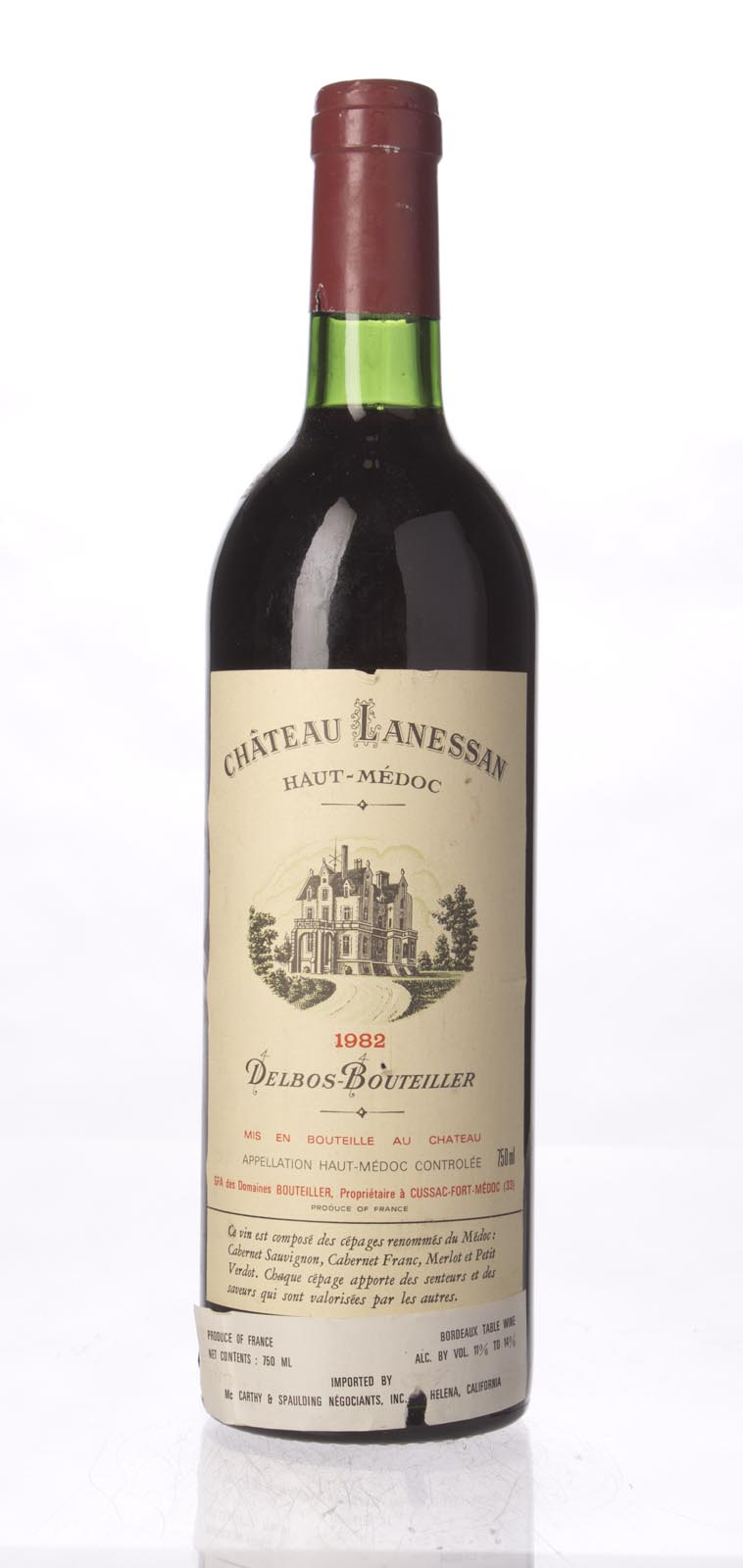 Lanessan 1982, 750mL (WS91) from The BPW - Merchants of rare and fine wines.