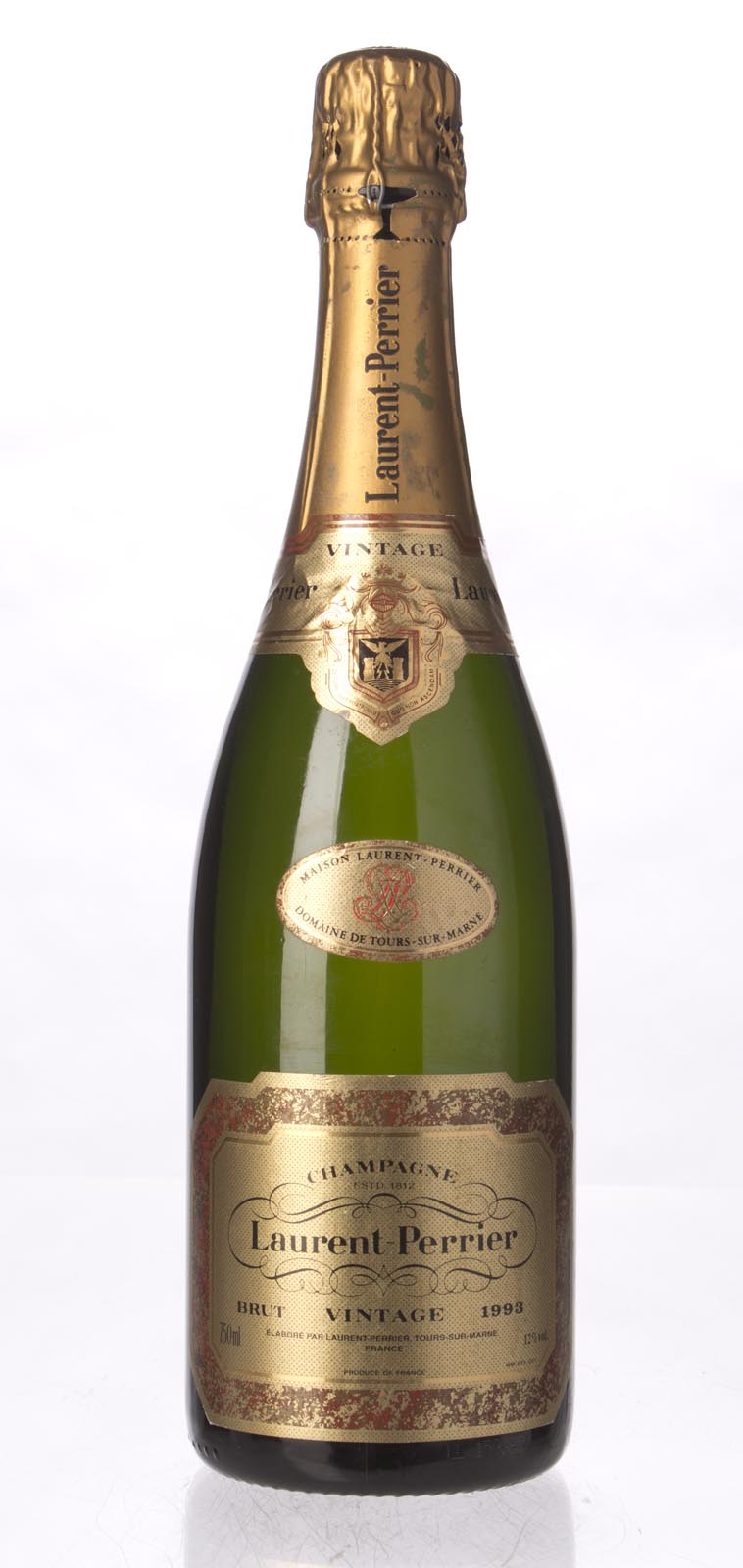 Laurent Perrier Brut 1993, 750mL () from The BPW - Merchants of rare and fine wines.