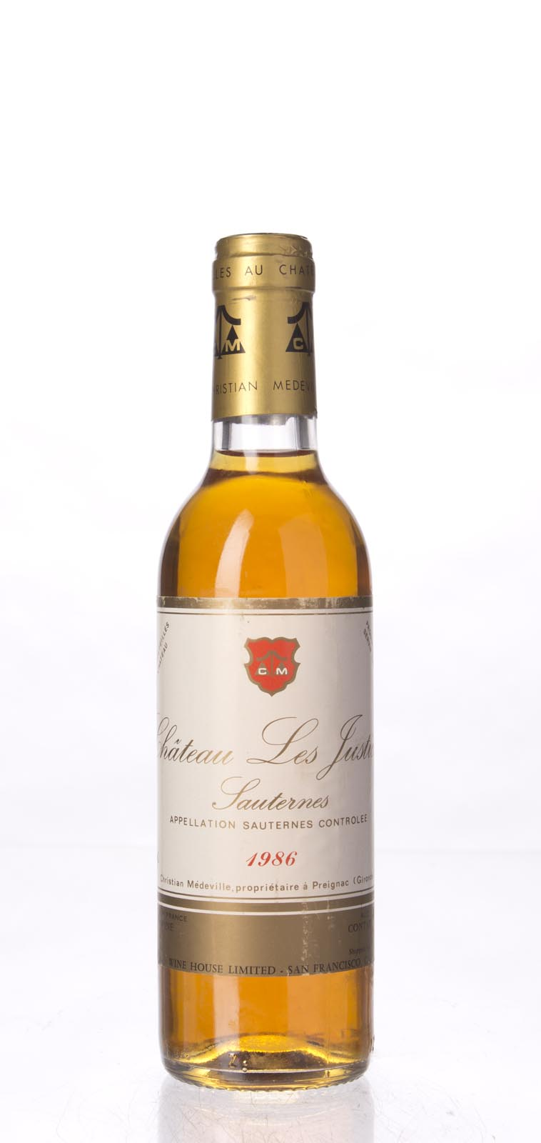 Les Justices 1986, 375mL () from The BPW - Merchants of rare and fine wines.