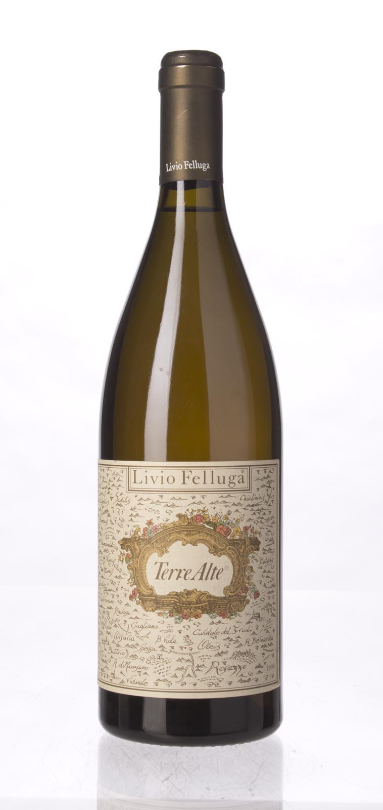 Livio Felluga Terre Alte Bianco 1998, 750mL () from The BPW - Merchants of rare and fine wines.