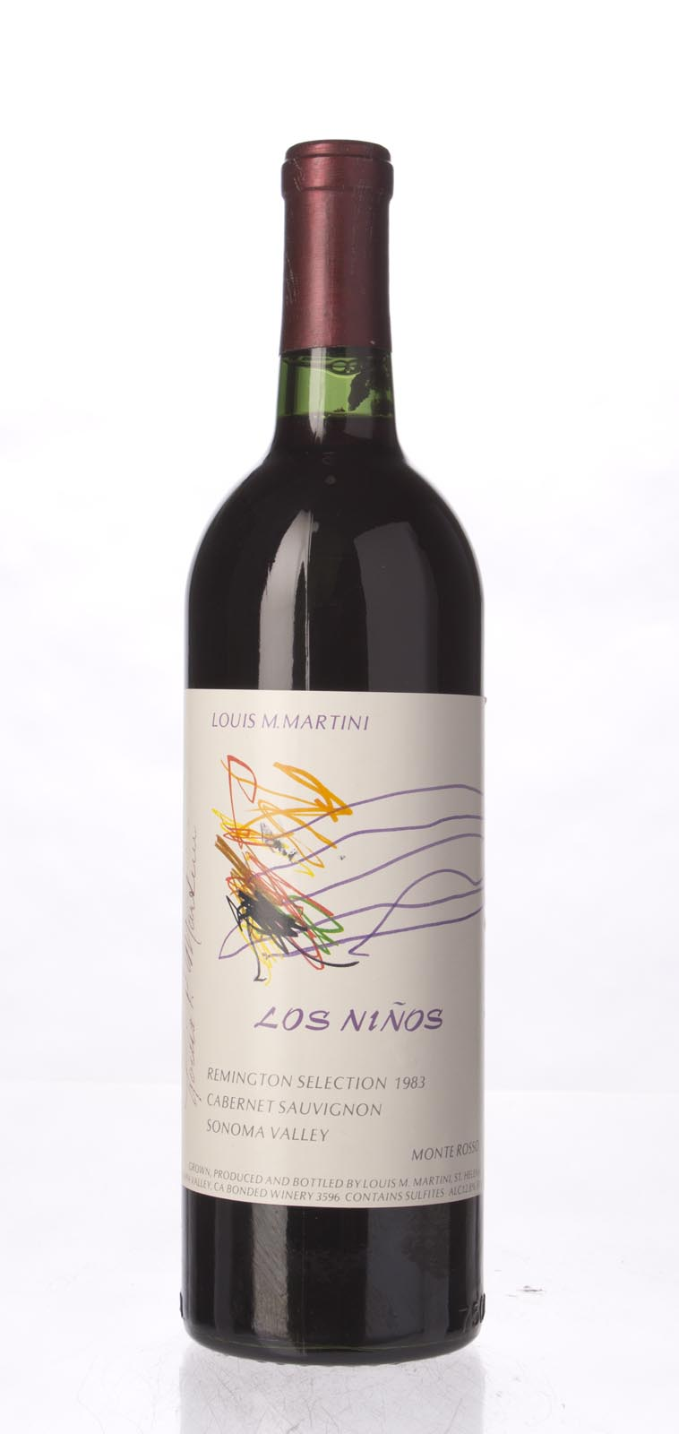 Louis Martini Cabernet Sauvignon Los Ninos Remington Selection 1983, 750mL () from The BPW - Merchants of rare and fine wines.