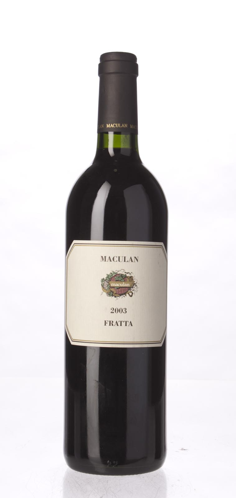 Maculan Fratta 2003, 750mL (ST91, WS91) from The BPW - Merchants of rare and fine wines.