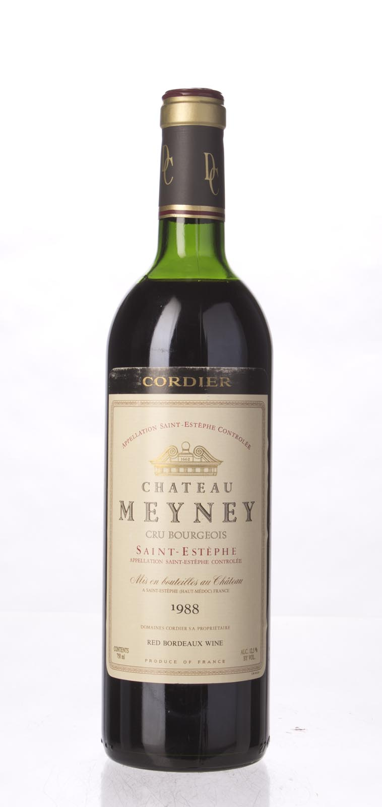 Meyney 1988, 750mL (WA88) from The BPW - Merchants of rare and fine wines.
