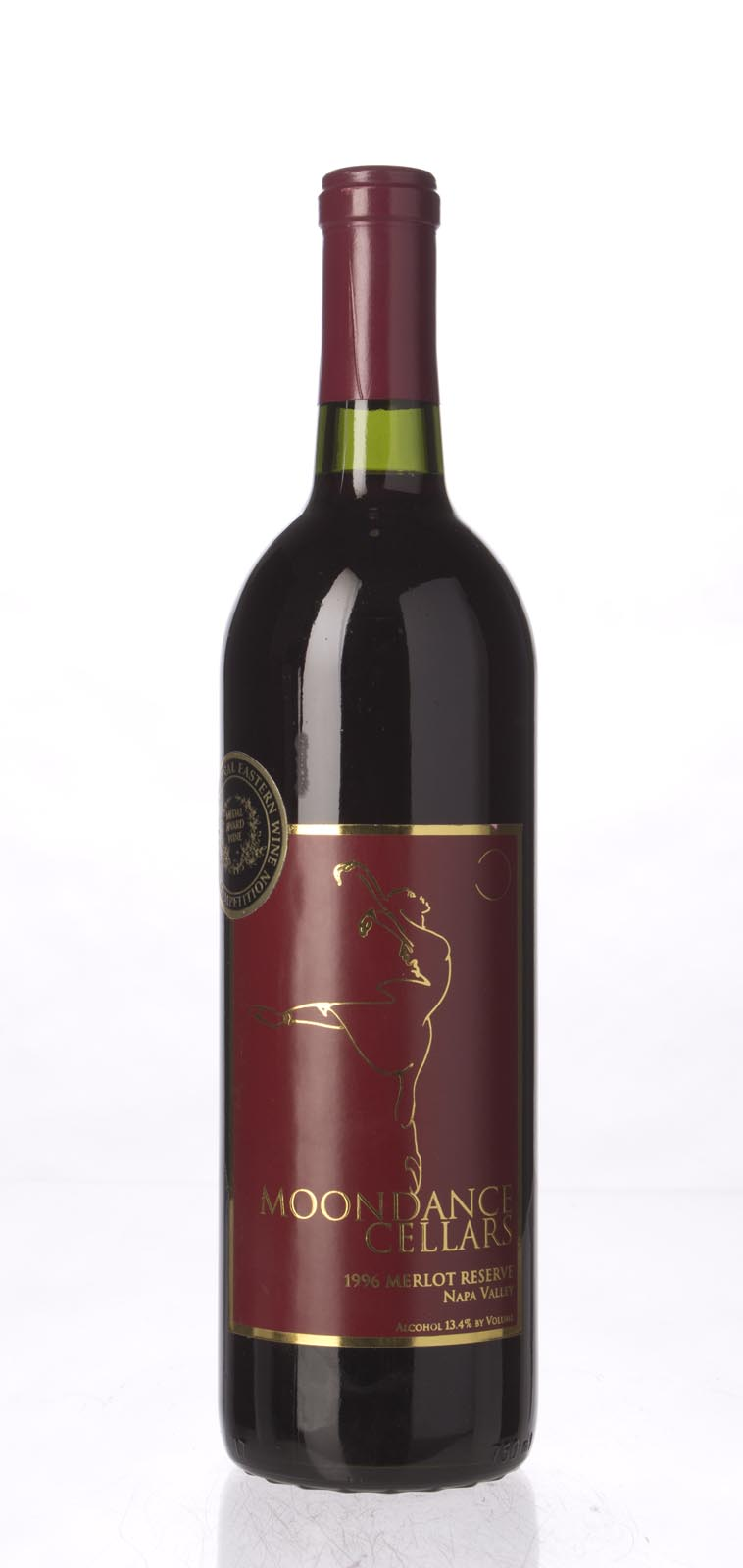 Moondance Cellars Merlot Reserve 1996, 750mL () from The BPW - Merchants of rare and fine wines.