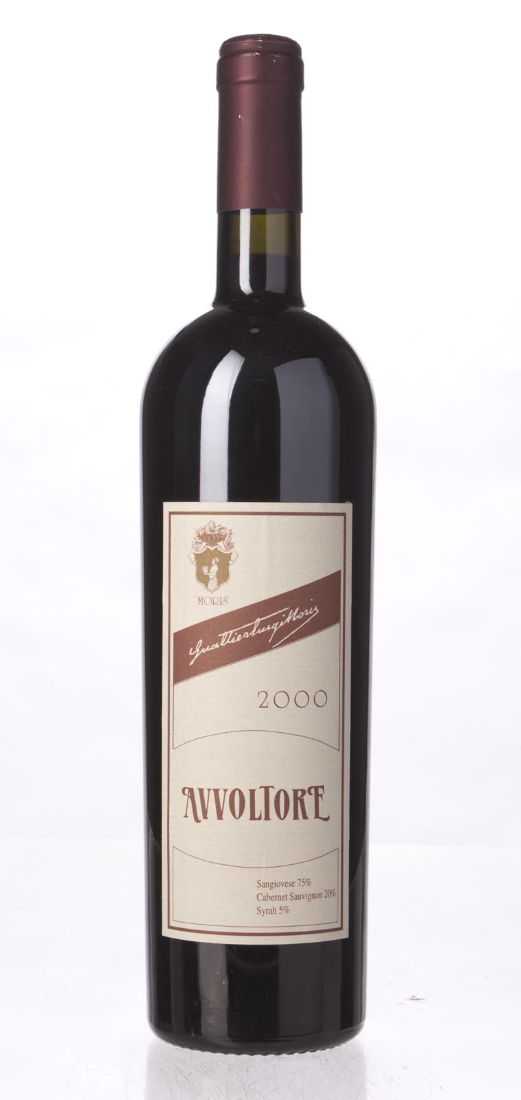 Moris Farms Avvoltore IGT 2000, 750mL (WS91) from The BPW - Merchants of rare and fine wines.