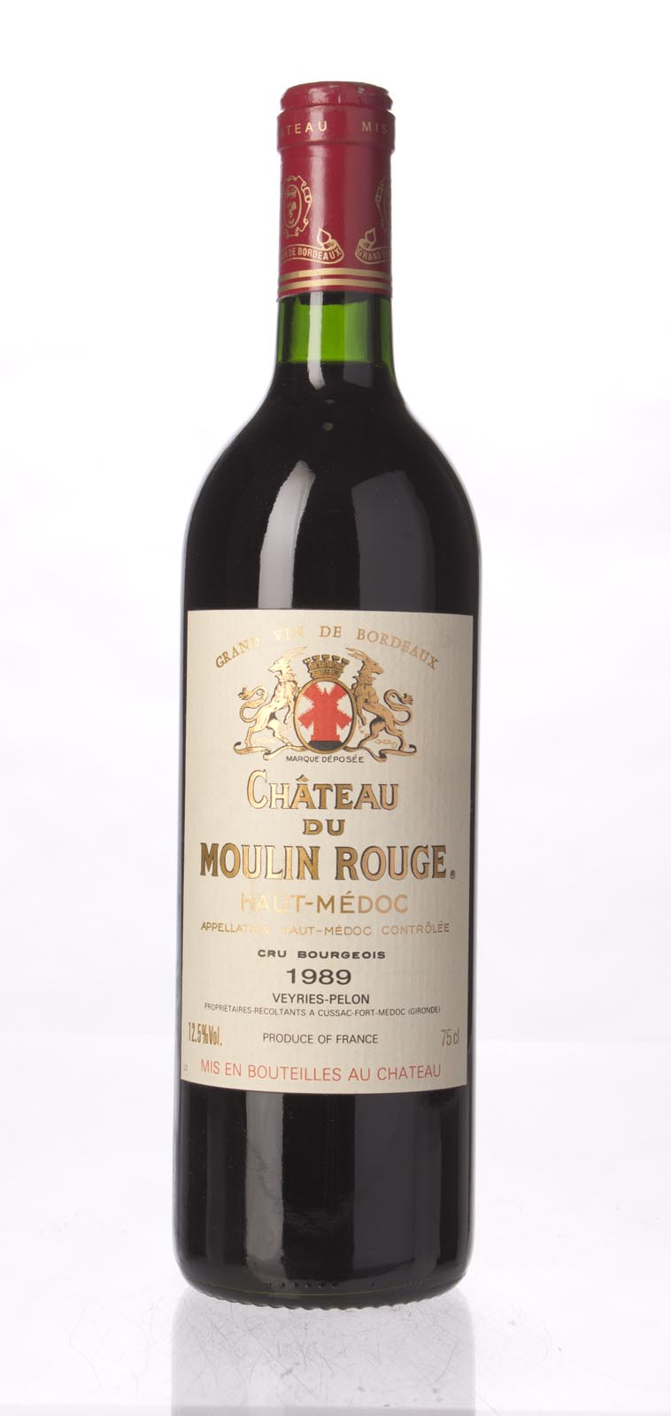 Moulin Rouge 1989, 750mL () from The BPW - Merchants of rare and fine wines.