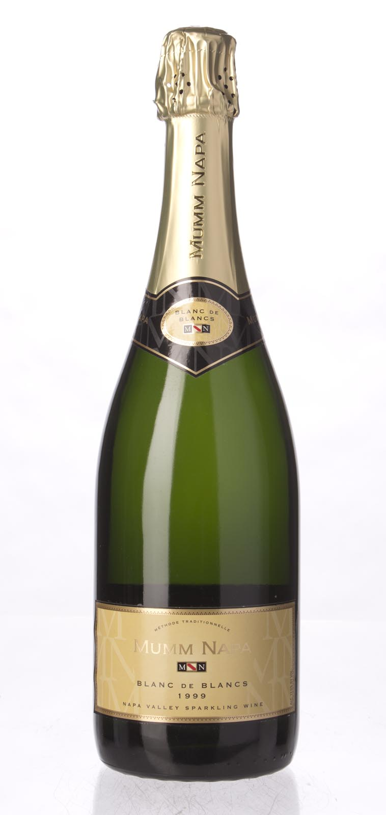 Mumm Cuvee Napa Brut Blanc de Blancs 1999, 750ml () from The BPW - Merchants of rare and fine wines.