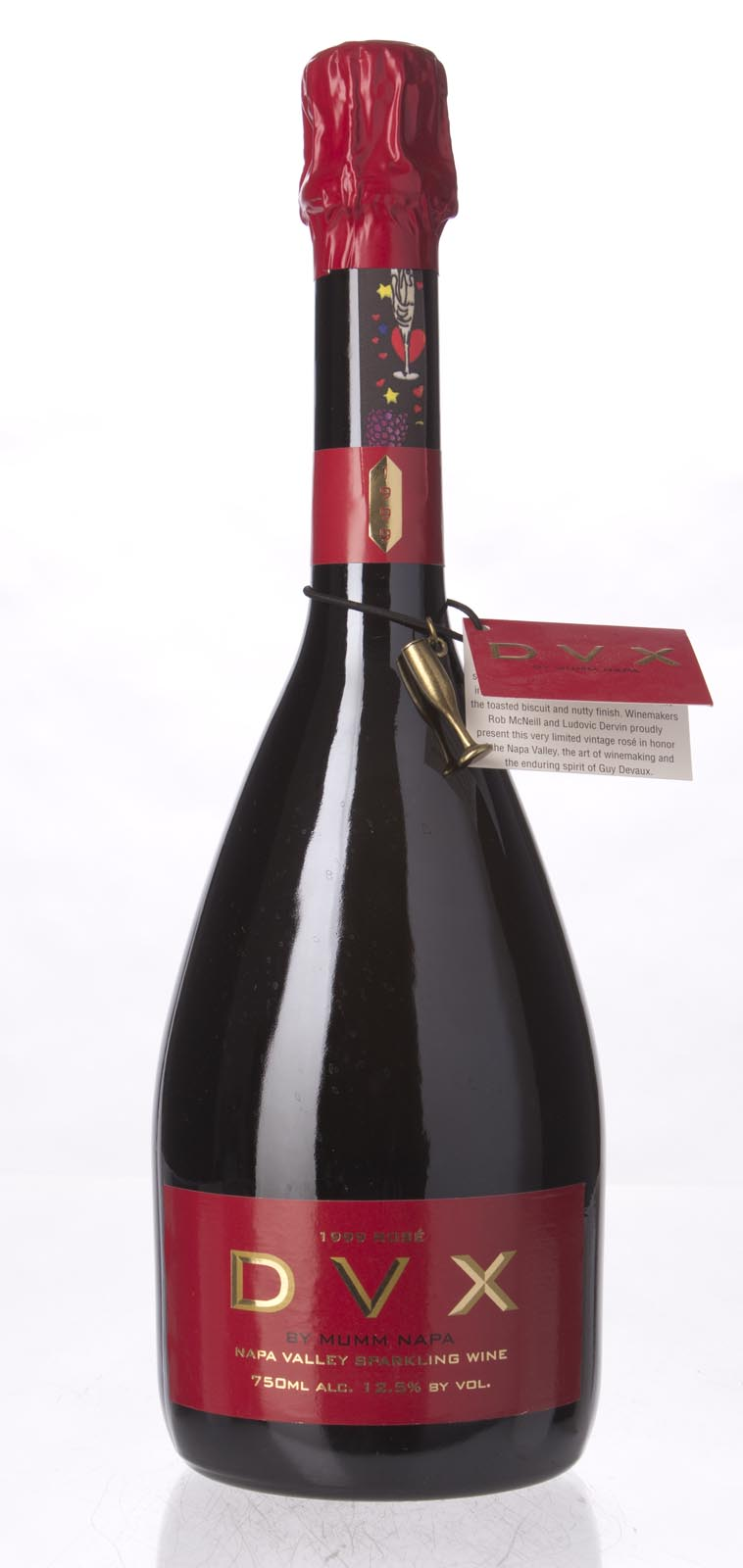 Mumm Cuvee Napa DVX Rose 1999, 750mL () from The BPW - Merchants of rare and fine wines.