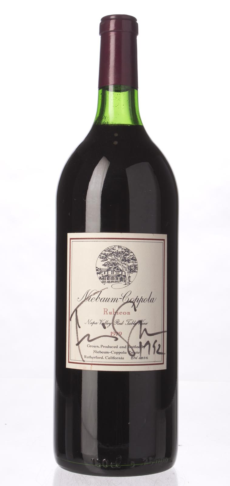Niebaum Coppola Proprietary Red Rubicon 1979, 1.5L () from The BPW - Merchants of rare and fine wines.