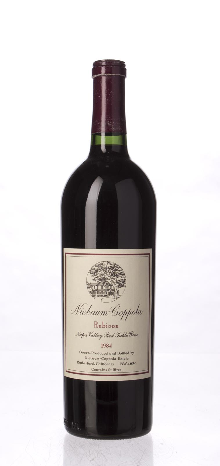 Niebaum Coppola Proprietary Red Rubicon 1984, 750mL () from The BPW - Merchants of rare and fine wines.