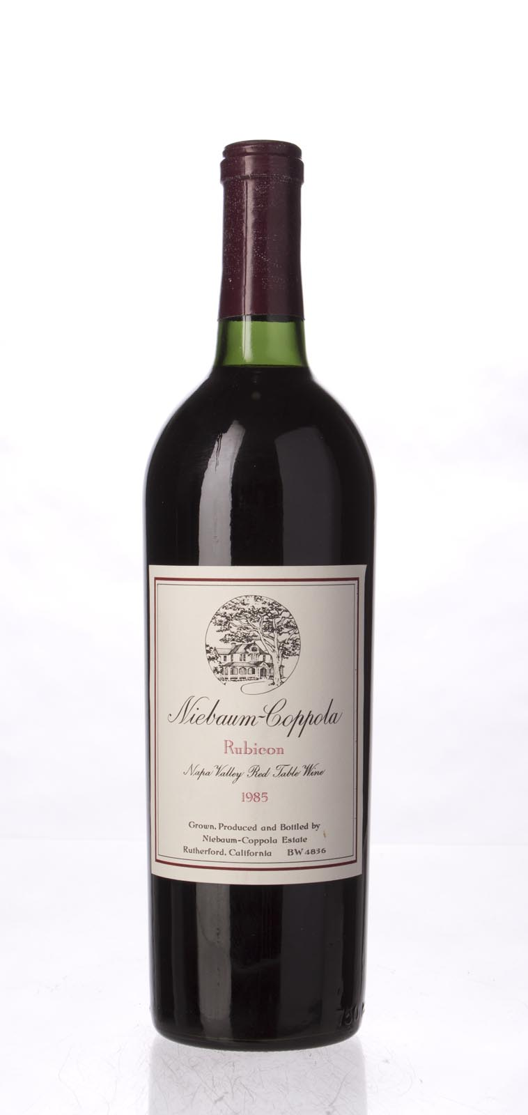 Niebaum Coppola Proprietary Red Rubicon 1985, 750mL () from The BPW - Merchants of rare and fine wines.