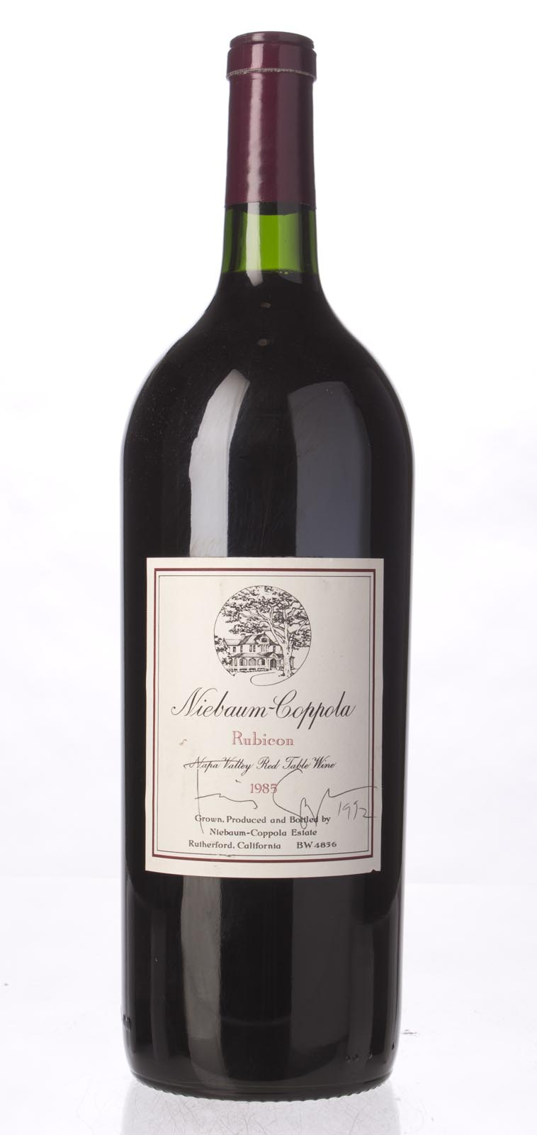 Niebaum Coppola Proprietary Red Rubicon 1985, 1.5L () from The BPW - Merchants of rare and fine wines.