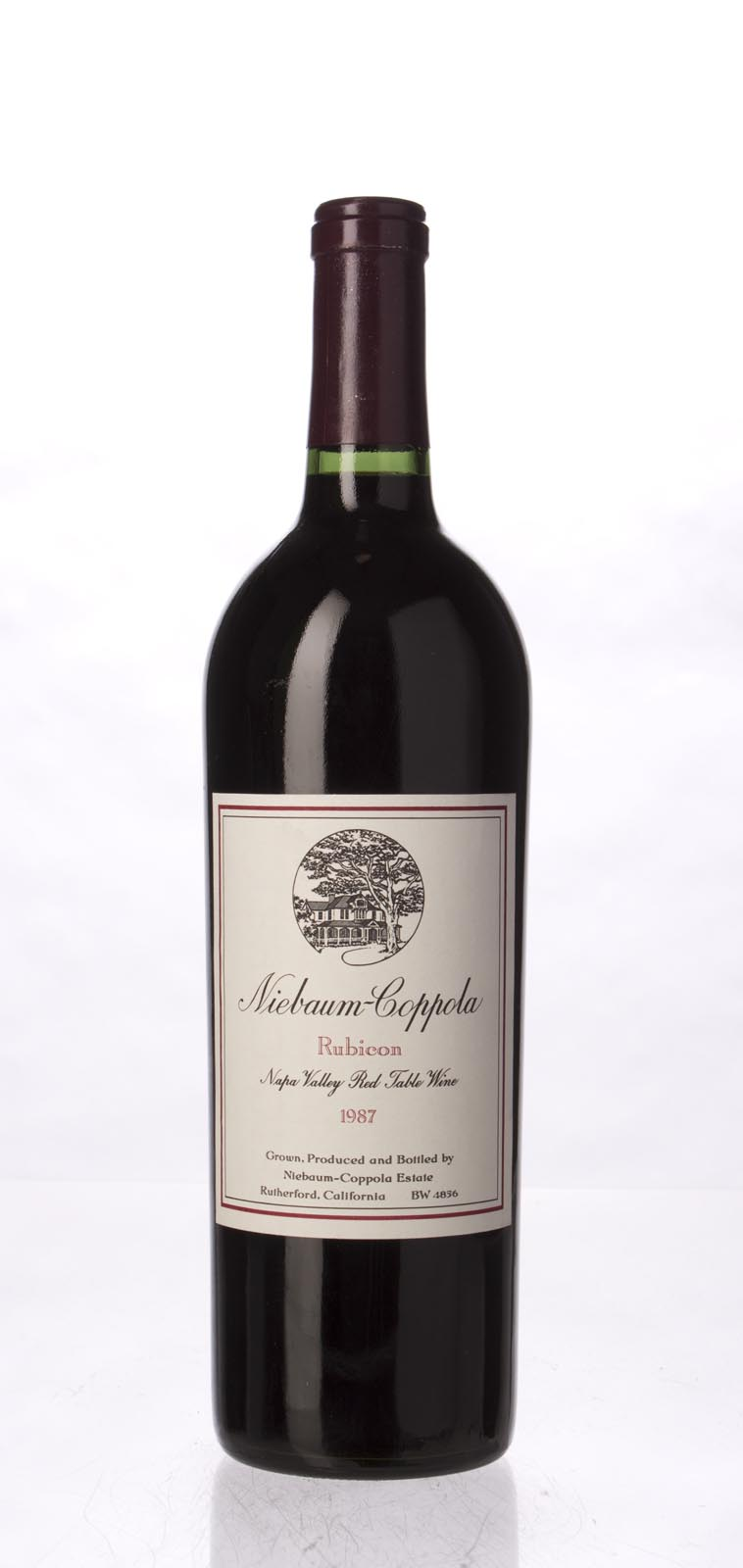 Niebaum Coppola Proprietary Red Rubicon 1987, 750mL () from The BPW - Merchants of rare and fine wines.