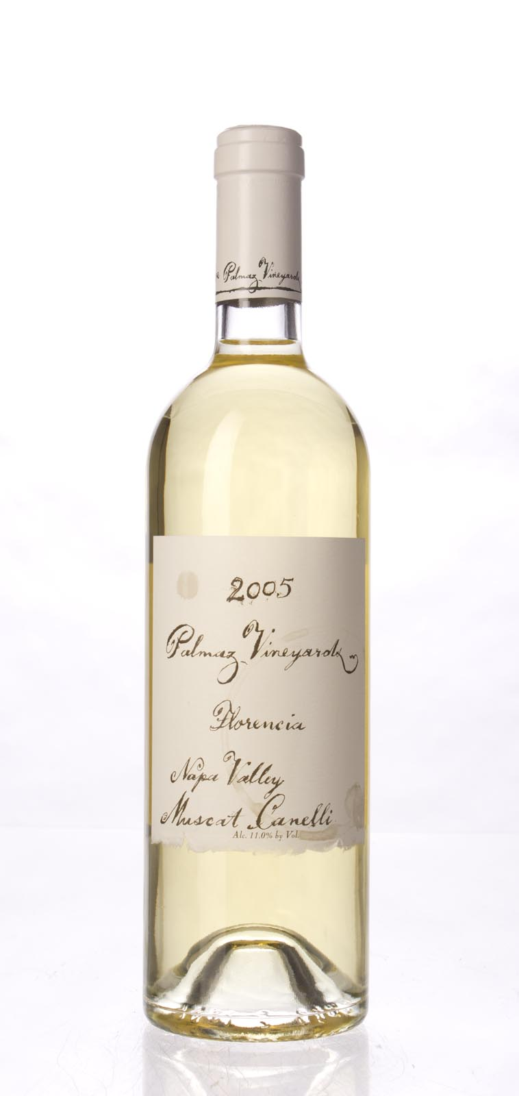 Palmaz Vineyards Muscat Canelli Florencia 2005, 750mL () from The BPW - Merchants of rare and fine wines.