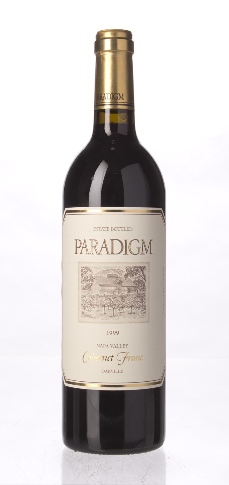 Paradigm Cabernet Franc 1999, 750mL () from The BPW - Merchants of rare and fine wines.
