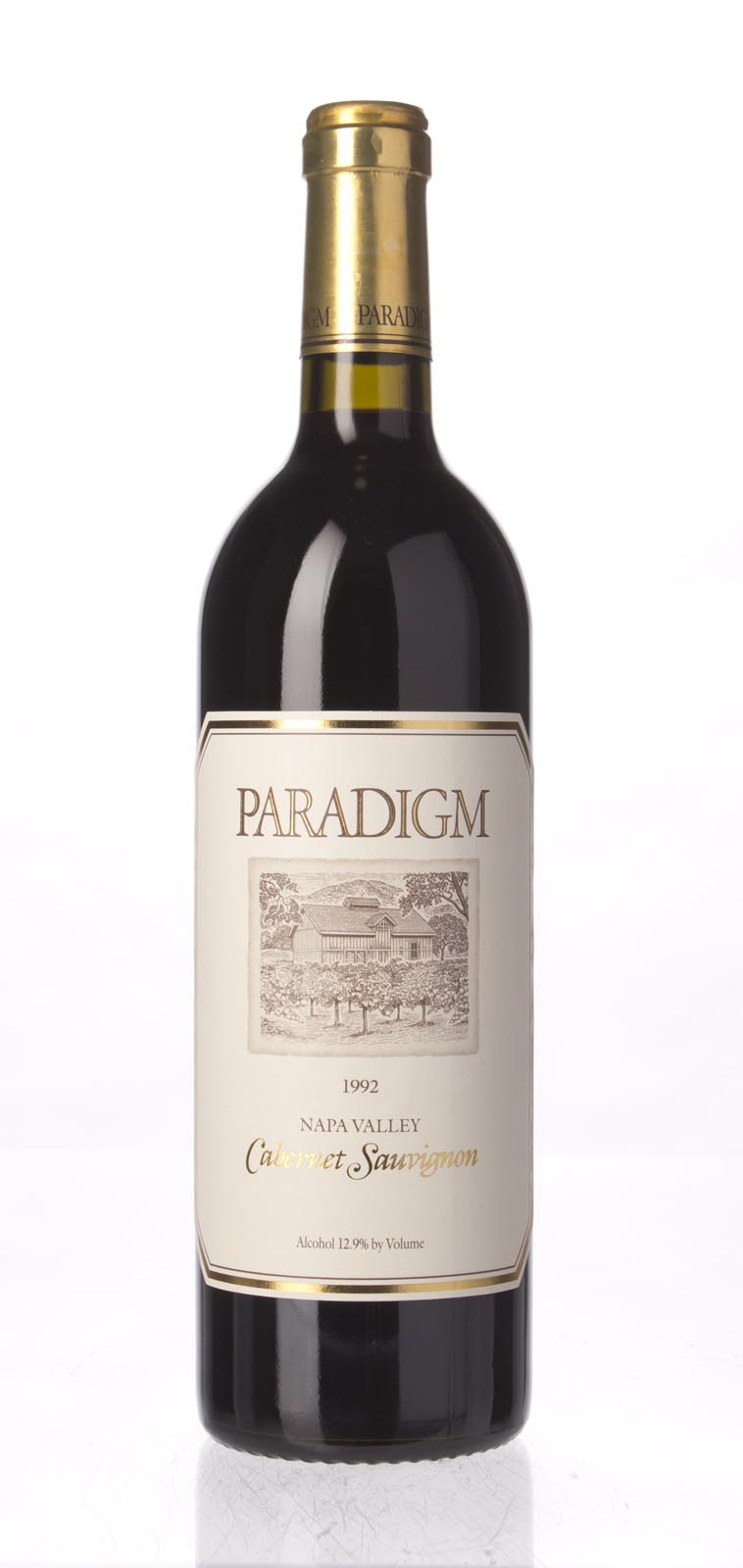 Paradigm Cabernet Sauvignon Oakville Estate 1992, 750mL (WA88) from The BPW - Merchants of rare and fine wines.