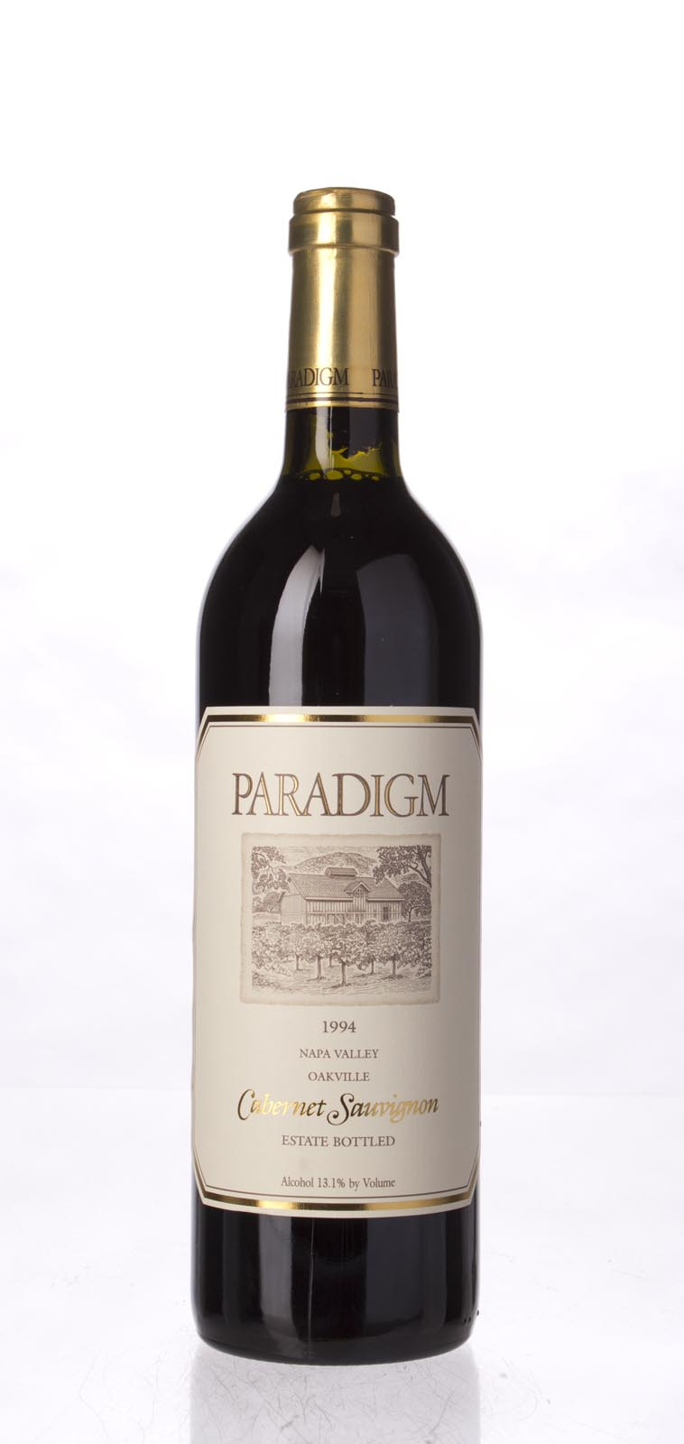 Paradigm Cabernet Sauvignon Oakville Estate 1994, 750mL (WS92) from The BPW - Merchants of rare and fine wines.