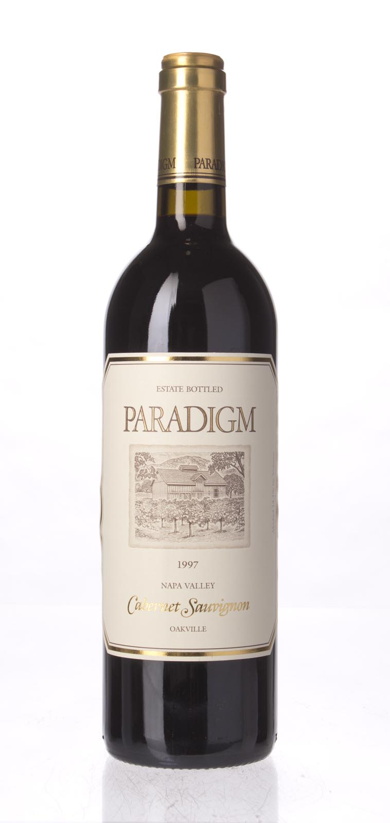 Paradigm Cabernet Sauvignon Oakville Estate 1997, 750mL (WS91) from The BPW - Merchants of rare and fine wines.