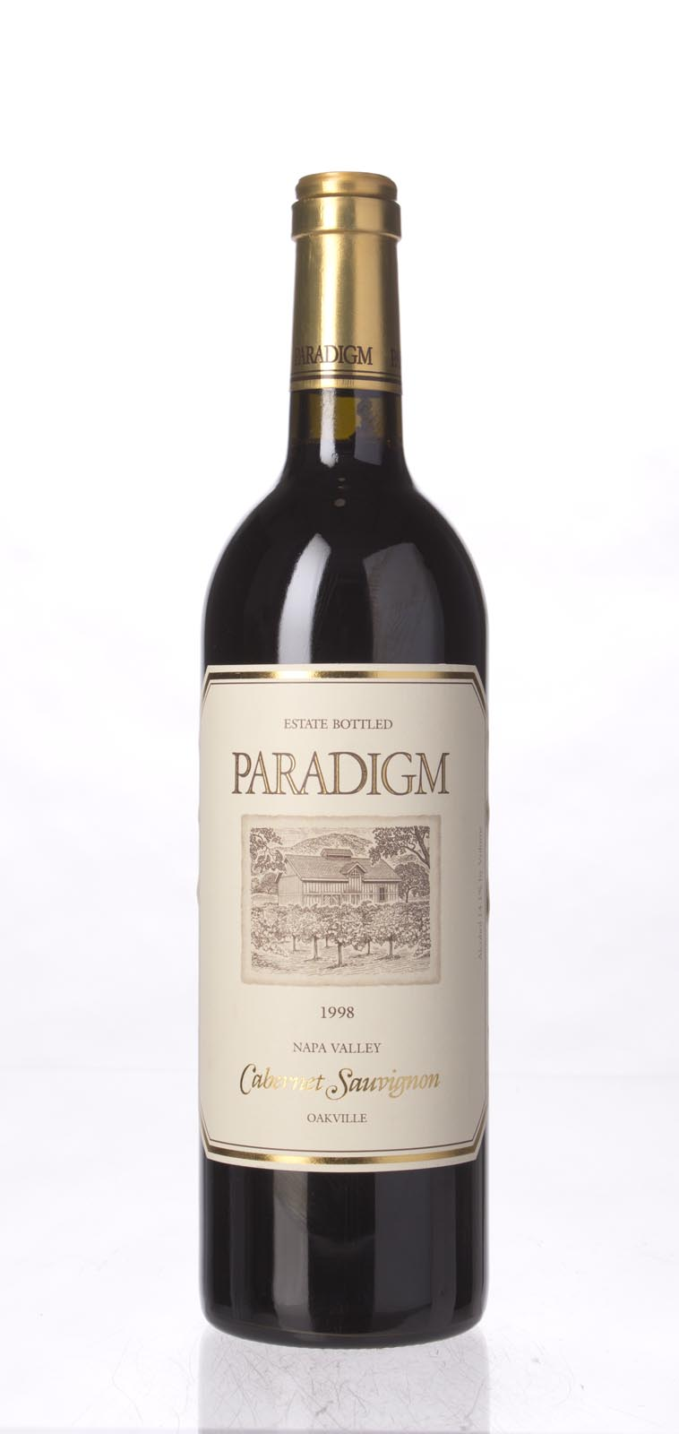 Paradigm Cabernet Sauvignon Oakville Estate 1998, 750mL () from The BPW - Merchants of rare and fine wines.
