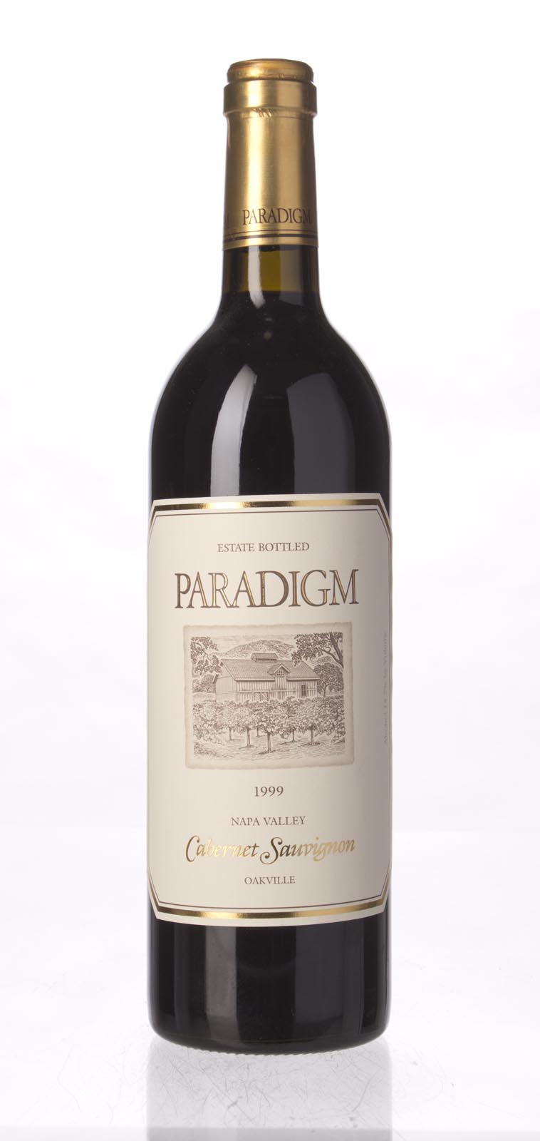 Paradigm Cabernet Sauvignon Oakville Estate 1999, 750mL (WS91) from The BPW - Merchants of rare and fine wines.