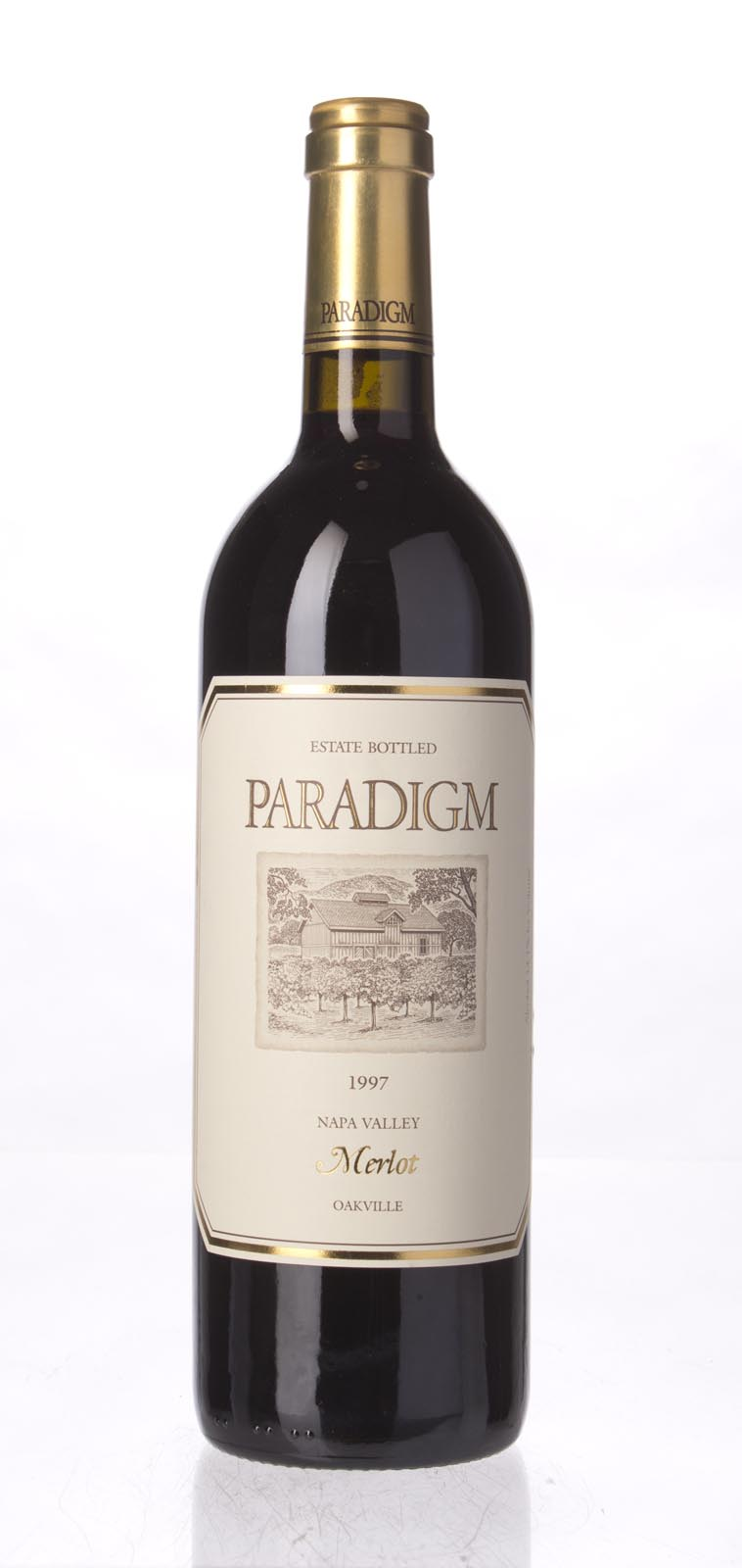 Paradigm Merlot Oakville Estate 1997, 750mL () from The BPW - Merchants of rare and fine wines.