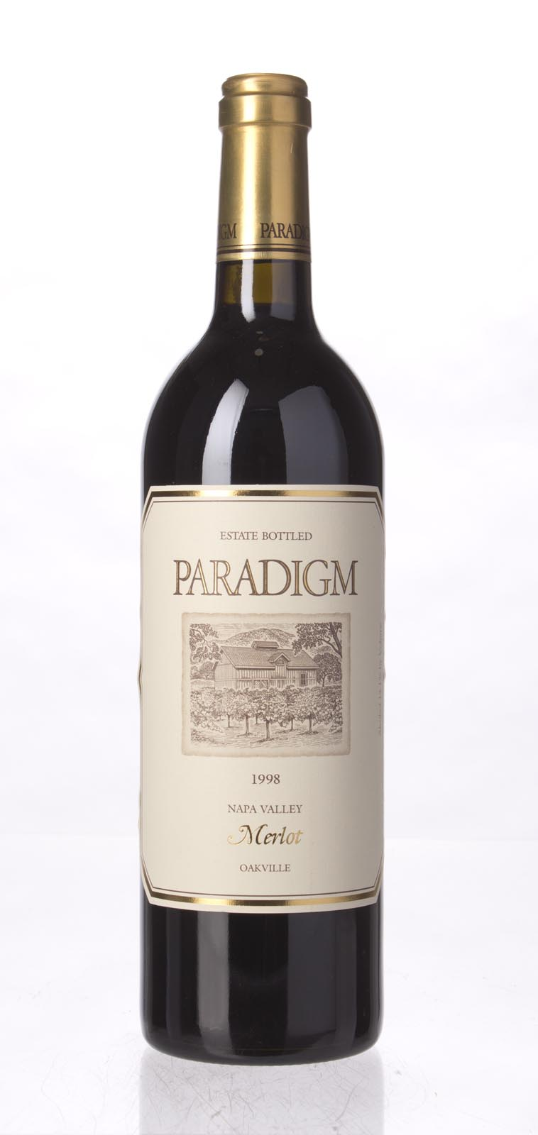 Paradigm Merlot Oakville Estate 1998, 750mL () from The BPW - Merchants of rare and fine wines.