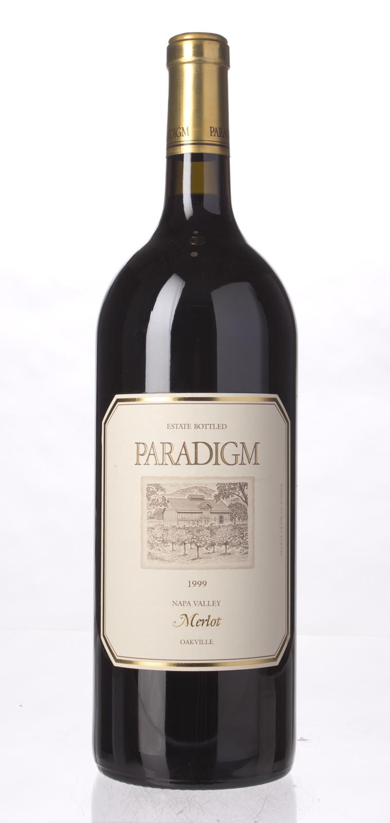 Paradigm Merlot Oakville Estate 1999, 1.5L () from The BPW - Merchants of rare and fine wines.