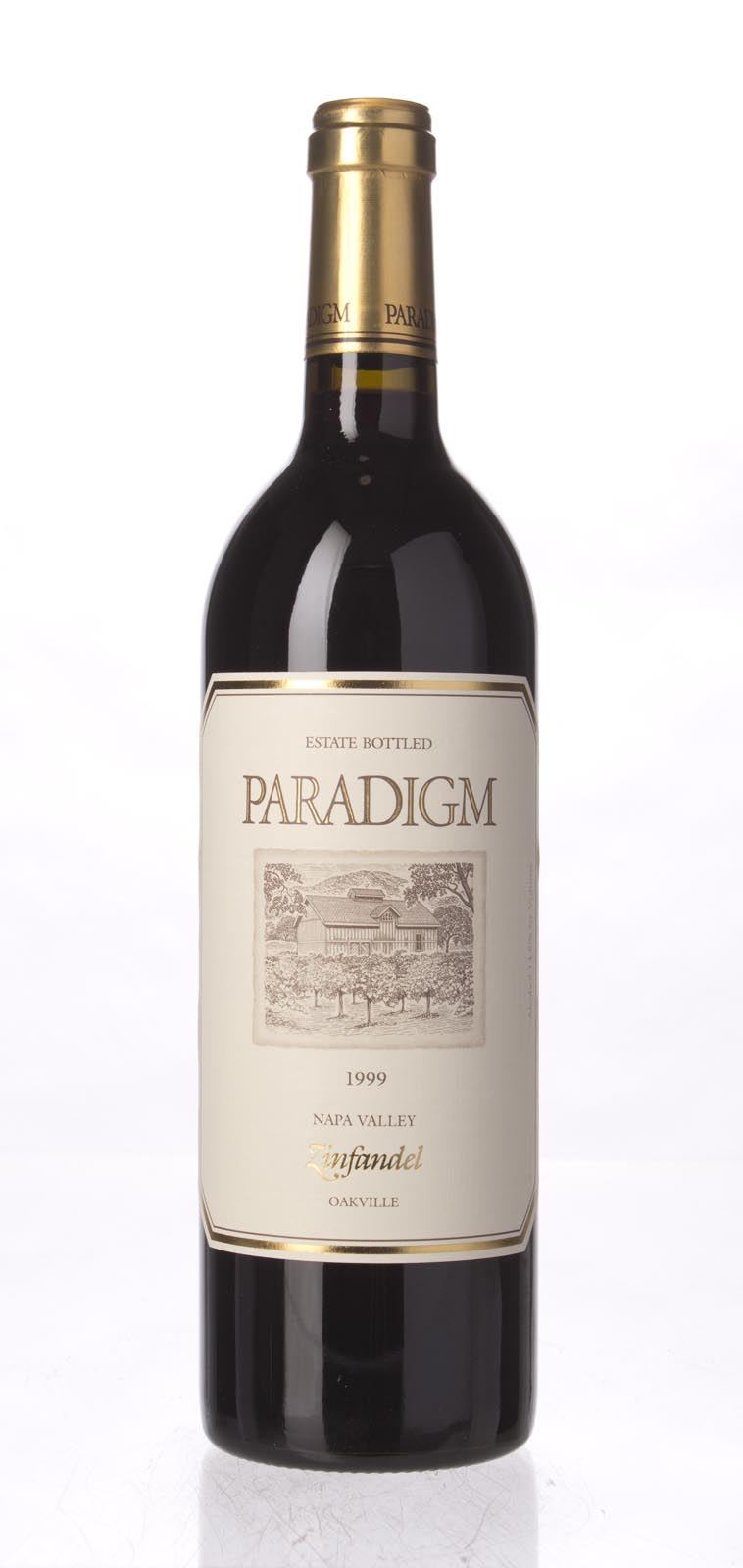 Paradigm Zinfandel Oakville Estate 1999, 750mL () from The BPW - Merchants of rare and fine wines.