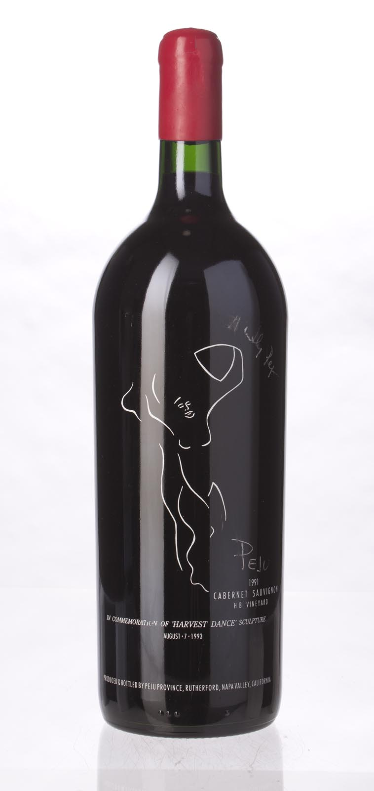Peju Province Winery Cabernet Sauvignon HB Vineyard 1991, 1.5L () from The BPW - Merchants of rare and fine wines.