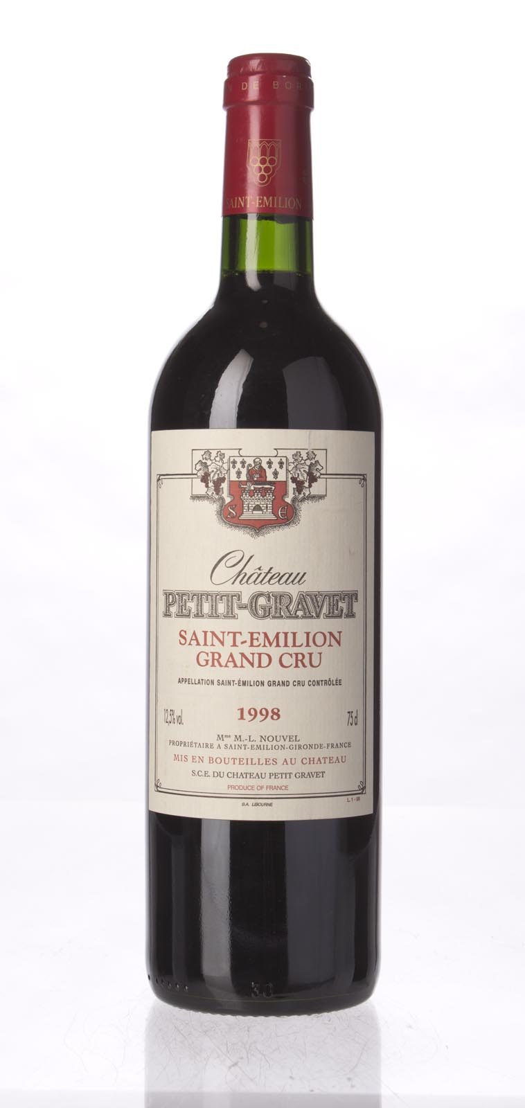 Petit Gravet 1998, 750ml (WA90-92) from The BPW - Merchants of rare and fine wines.