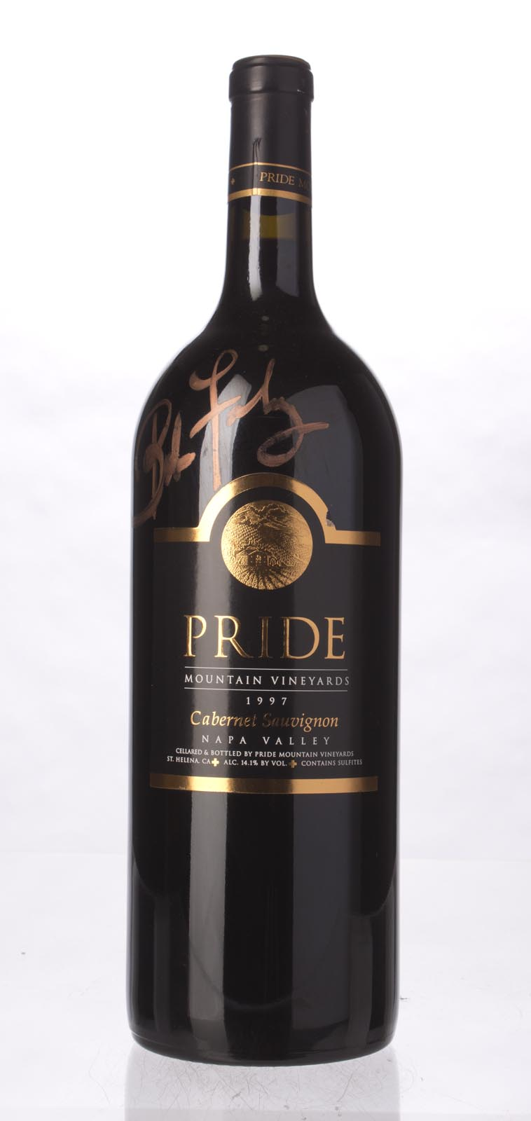 Pride Mountain Vineyards Cabernet Sauvignon 1997, 1.5L (WA91-93, ST93, WS94) from The BPW - Merchants of rare and fine wines.