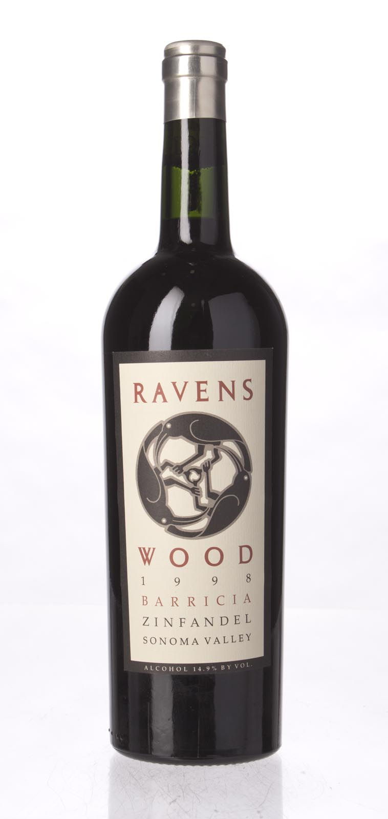 Ravenswood Zinfandel Barricia Vineyard 1998, 750mL (WA90, ST90) from The BPW - Merchants of rare and fine wines.