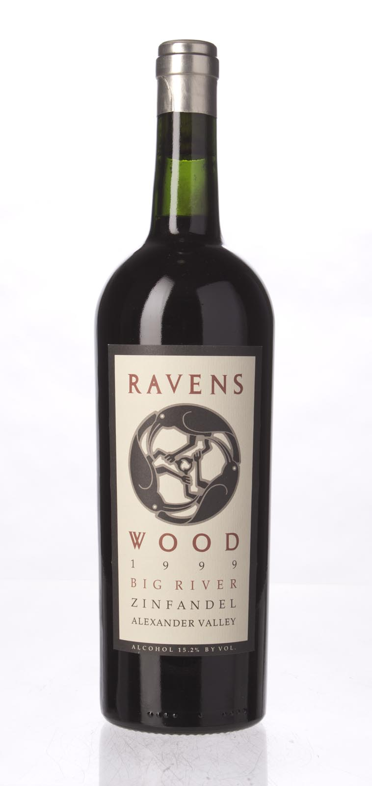 Ravenswood Zinfandel Big River 1999, 750mL (WA91, ST91-94) from The BPW - Merchants of rare and fine wines.
