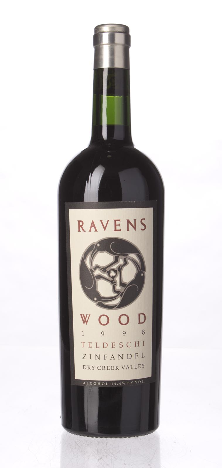 Ravenswood Zinfandel Teldeschi Vineyard 1998, 750mL (WA88) from The BPW - Merchants of rare and fine wines.