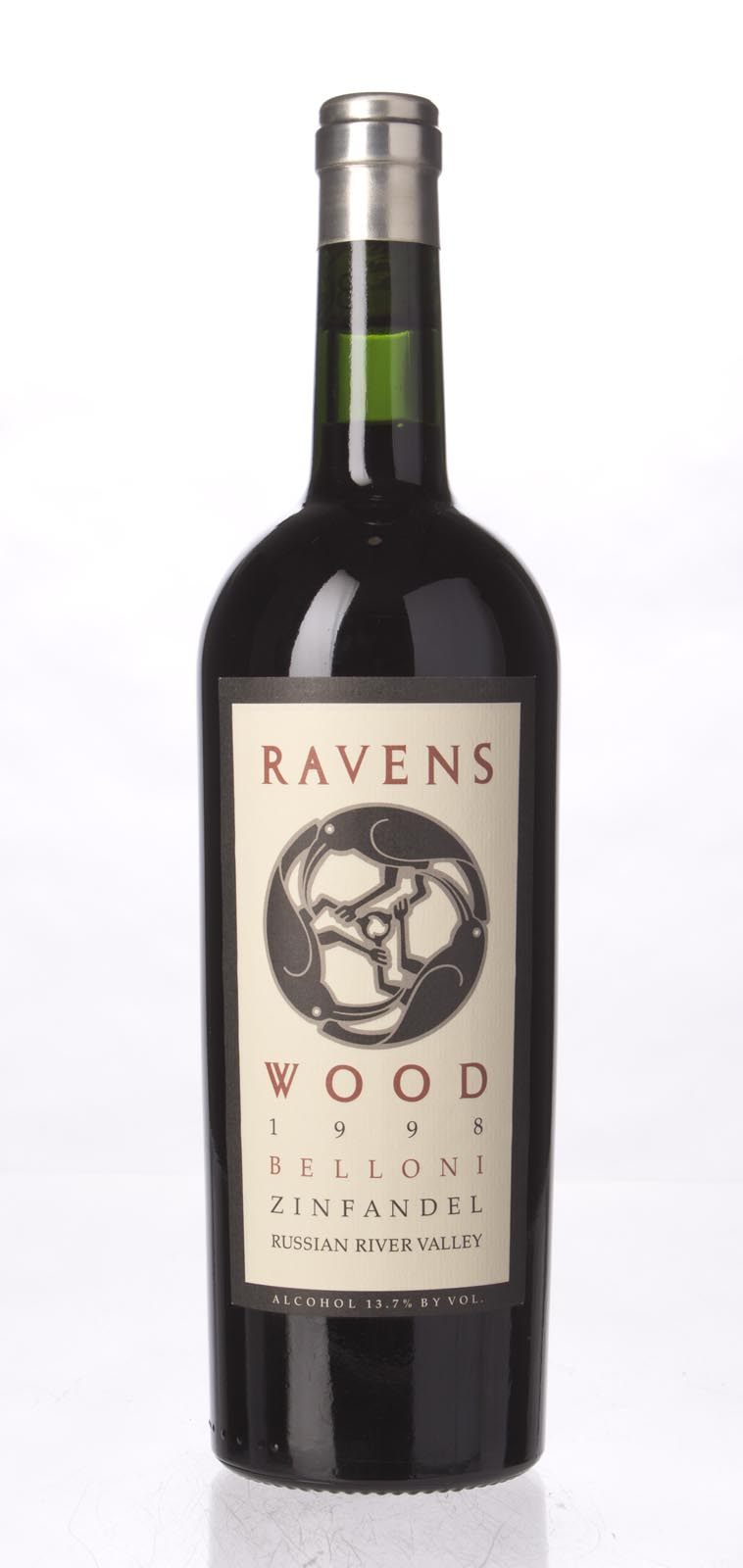Ravenswood Zinfandel Wood Road Belloni 1998, 750mL () from The BPW - Merchants of rare and fine wines.